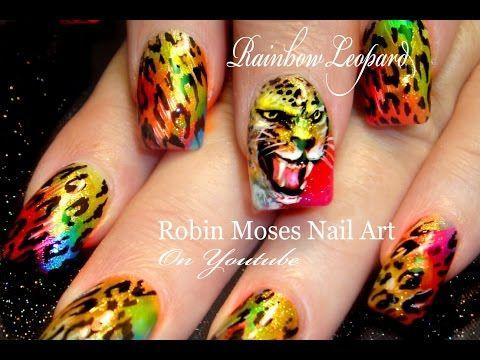Animal Print Nail Art Easy Nail Tutorials Zebra Nails Leopard