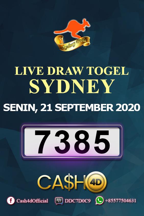 Data Result Sydney 2020 : result, sydney, Result, Sydney, Senin,, September, Sydney,, Pengetahuan