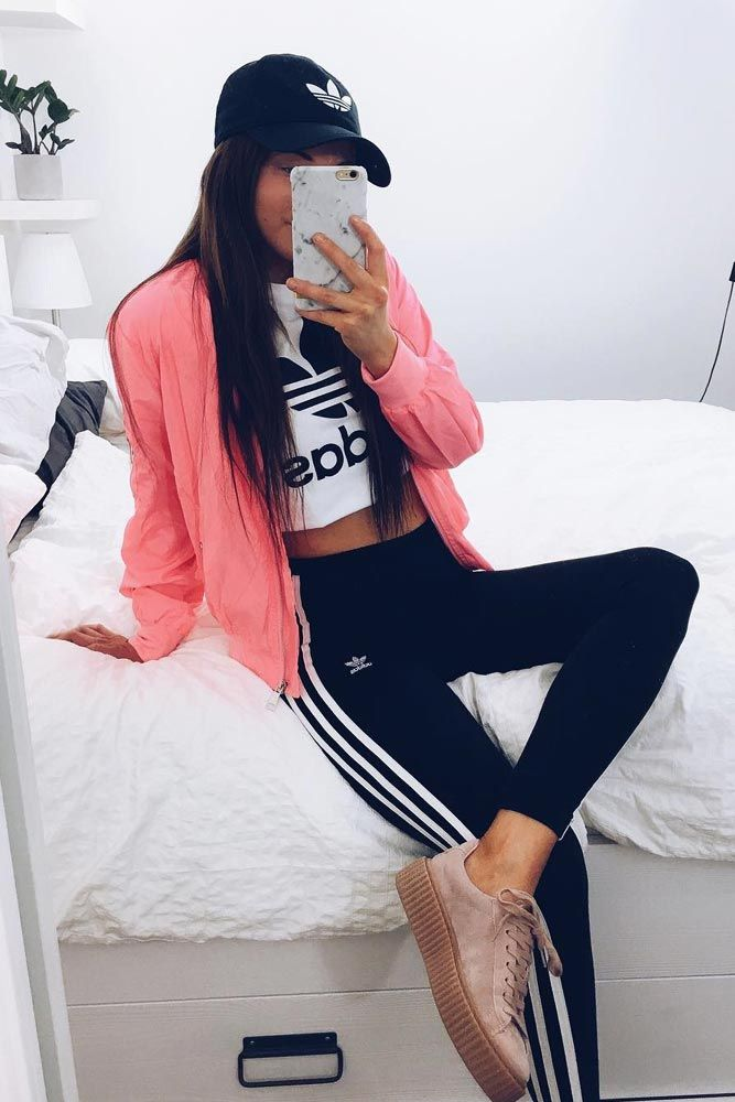 36 Adidas Pants Outfit Ideas Super Combo Of Comfort And Beauty Style Adidas Pants Pants Outfit Adidas