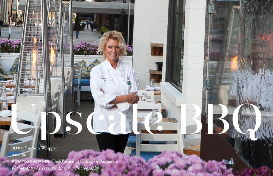 career profile on Chef Lee Ann Whippen of Chicago q Restaurant // photography by Jennifer Kathryn Photography