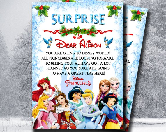 graphic regarding You Re Going to Disney World Printable named Marvel Disney Letter in opposition to Princesses, Youre Likely in the direction of