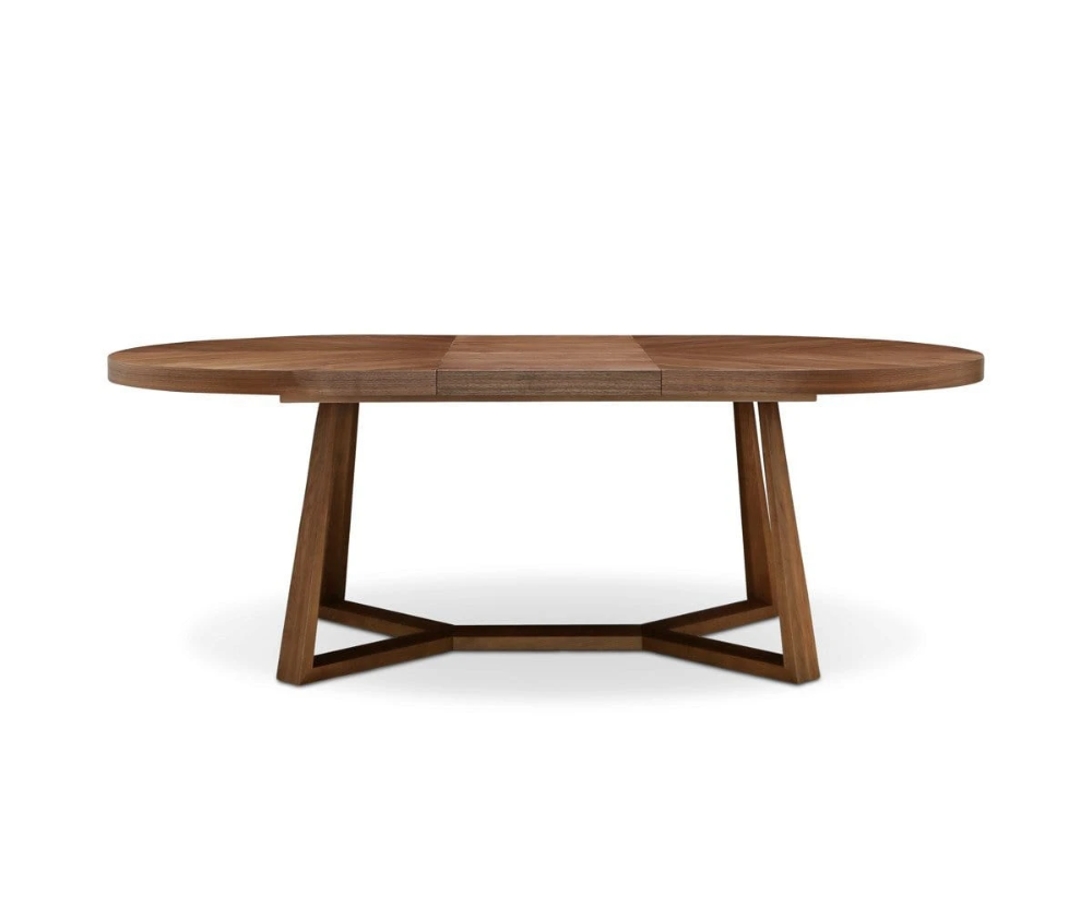 Oliver Oval Extension Dining Table In 2020 Midcentury Modern