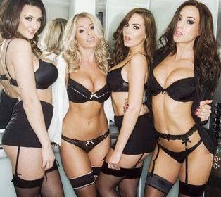 Busty Babes Lesbians Babes Lingerie
