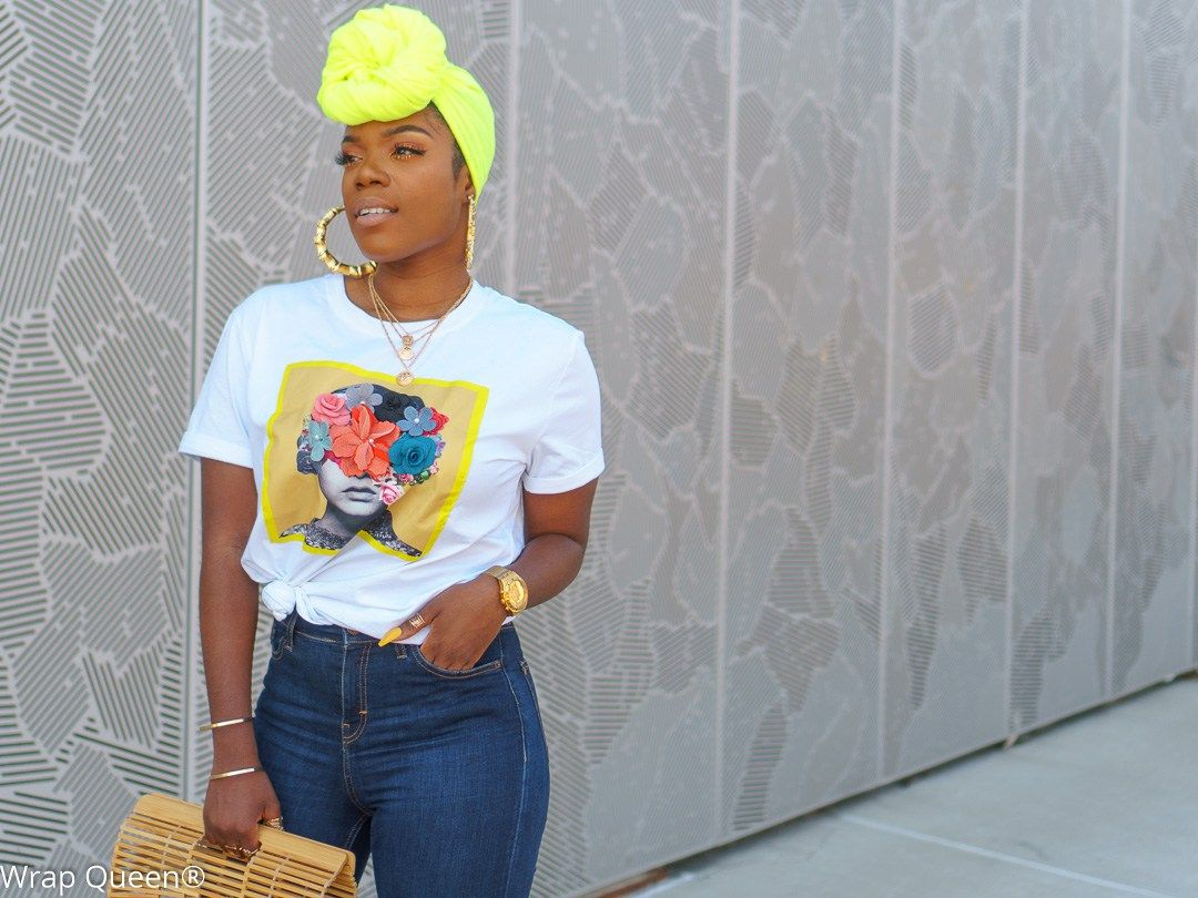 Photo of Neon Headwraps Are Life!! – Wrap Queen New York