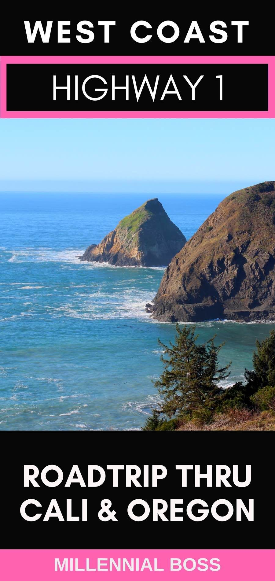 Northern California and Southern Oregon Coast Road Trip #westcoastroadtrip