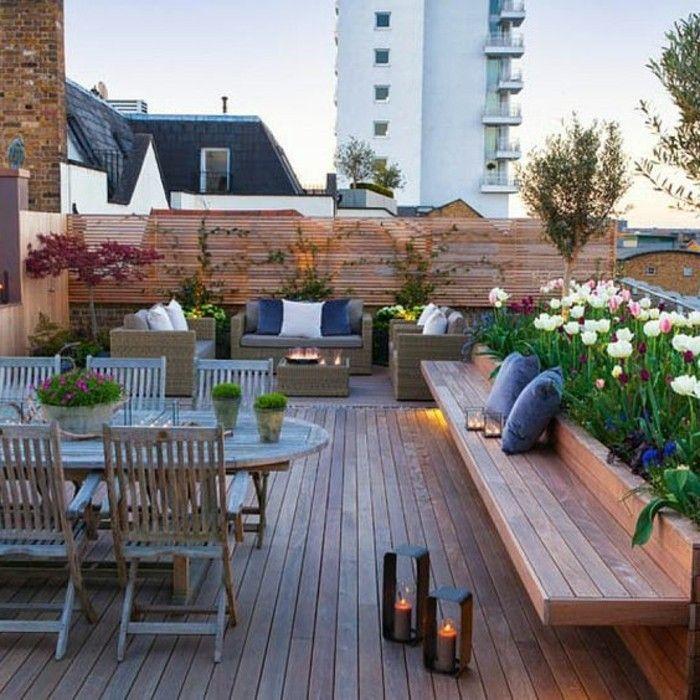 Aménager une terrasse - plus de 50 idée pour vous! | Designing ...