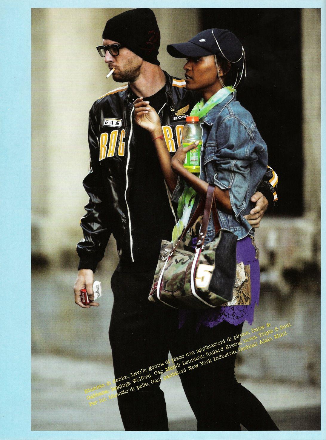5f068068b2fd Liya Kebede in L Altra Hollywood for Vogue Italia