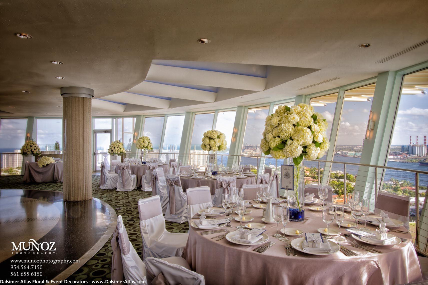 Hyatt Regency Pier Sixty Six Fort Lauderdale Florida 50 Wedding Flowers Bat