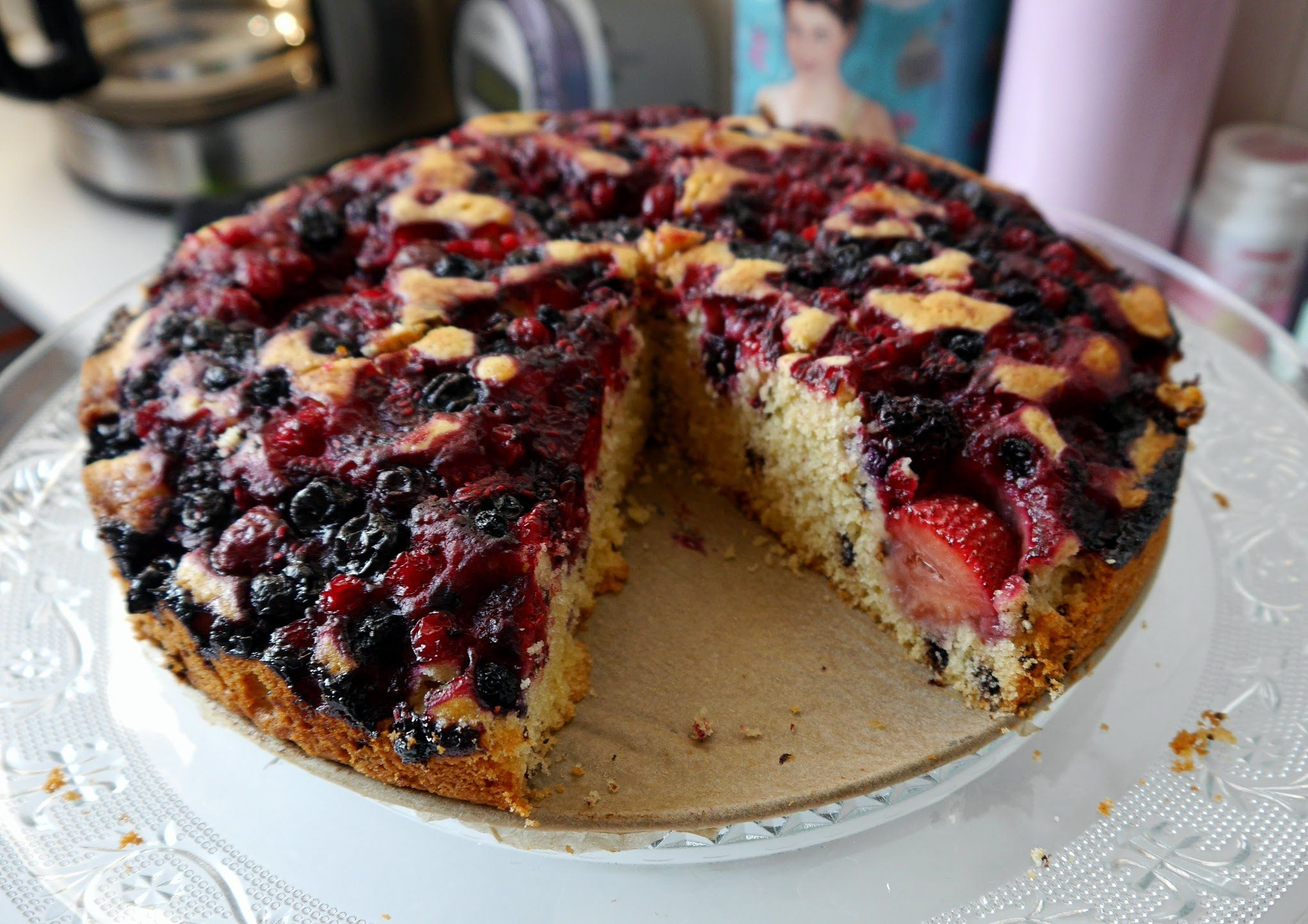 пироги со свежими ягодами рецепты с фото имени жены французского
