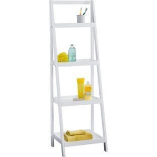quality design 5be1d a5871 Living White Ladder Storage Unit. from Homebase.co.uk | My ...