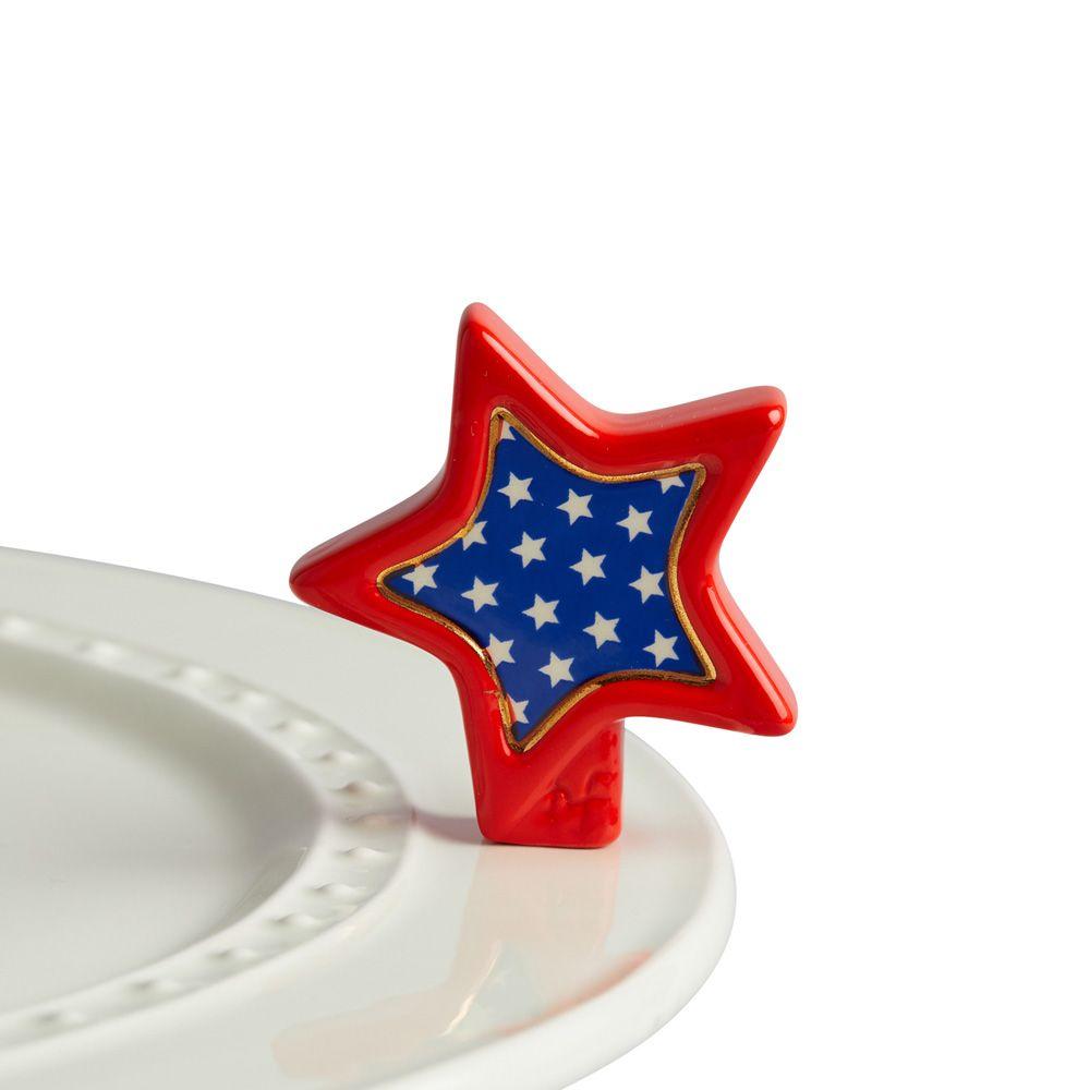 Nora Fleming Mini Sparkly Star Platter Ornament At The Paper Store Nora Fleming Minis Nora Fleming Platters