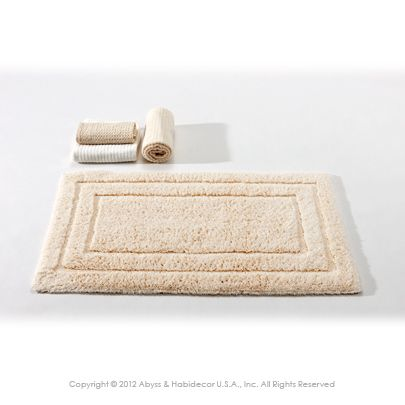 Eko Organic Rugs By Abyss And Habidecor Are Naturally Colored 100 Cotton The