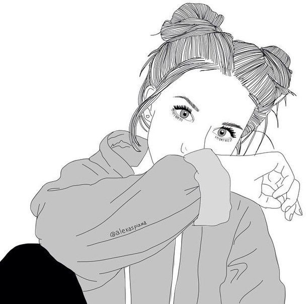 Grunge Tumblr Aesthetic | drawing, grunge, outline, outlines, tumblr,  artline,