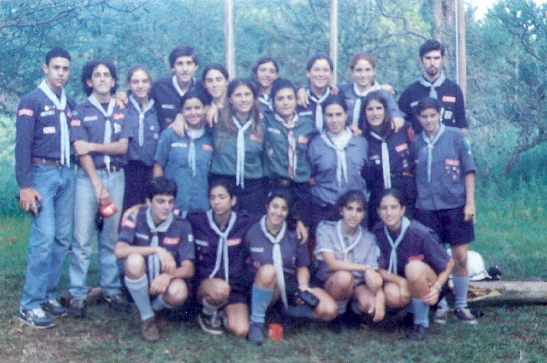 Campamento Regional Santa Rosa de Calamuchita 1998.-
