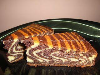 My Hobbie Lobbie: Zebra Cake