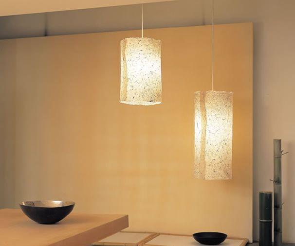 遠藤照明 土佐和紙ペンダントライト 和室 実例 設置イメージ集 照明のライティングファクトリー 和室 和風の家の設計 ペンダントライト