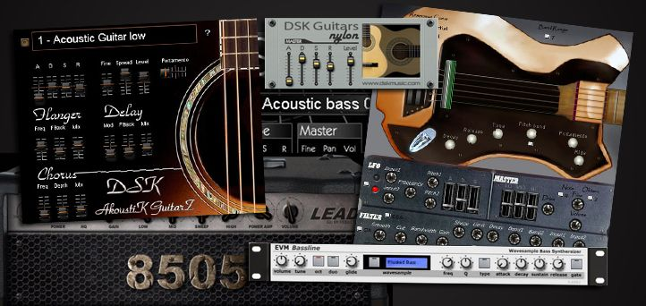 Here Are 8 Free Guitar And Bass Vst Plugins To Use With Any Vst Plugin Supported Software Download Bassline Akoustik Guitar Cool Guitar Music Software Guitar