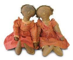 Exploring Dolls, Past and Present - The History of Dolls Via Prim Folk Market