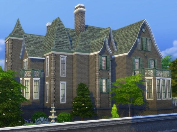 The Sims Resource: Le Manoir Gothique by Ineliz • Sims 4 Downloads Check more at http://sims4downloads.net/the-sims-resource-le-manoir-gothique-by-ineliz/