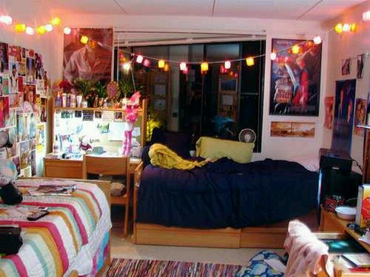 Lights In Dorm Room Dorm Life Room Decor Part 5