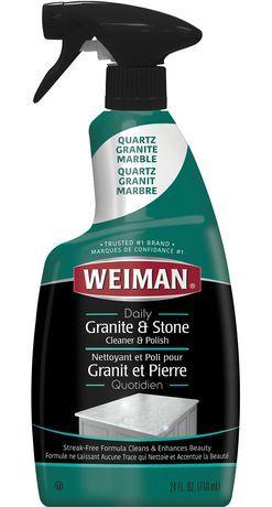 Weiman Granite And Stone Countertop Cleaner Granite Cleaner