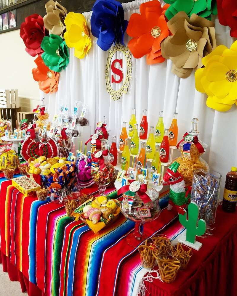 Fiesta / Mexican Quinceañera Party Ideas | Photo 1 of 15 | Catch My Party #quinceaneraparty