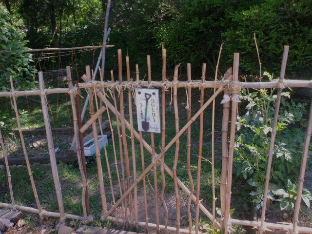 barri re de bambou diy recup jardin diy garden pinterest barri re bambou et jardins. Black Bedroom Furniture Sets. Home Design Ideas
