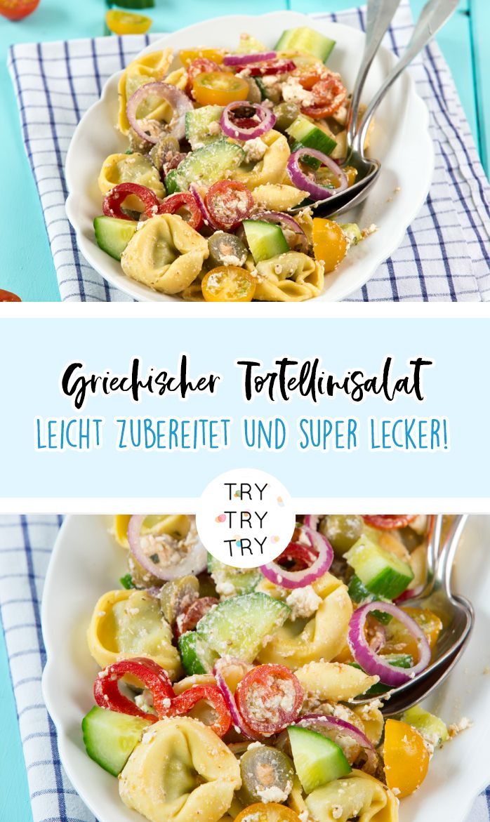 Photo of Griechischer Tortellini Salat
