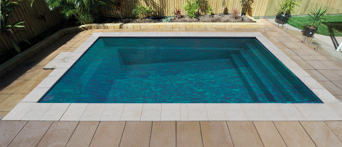 Davinci Fibreglass Pool