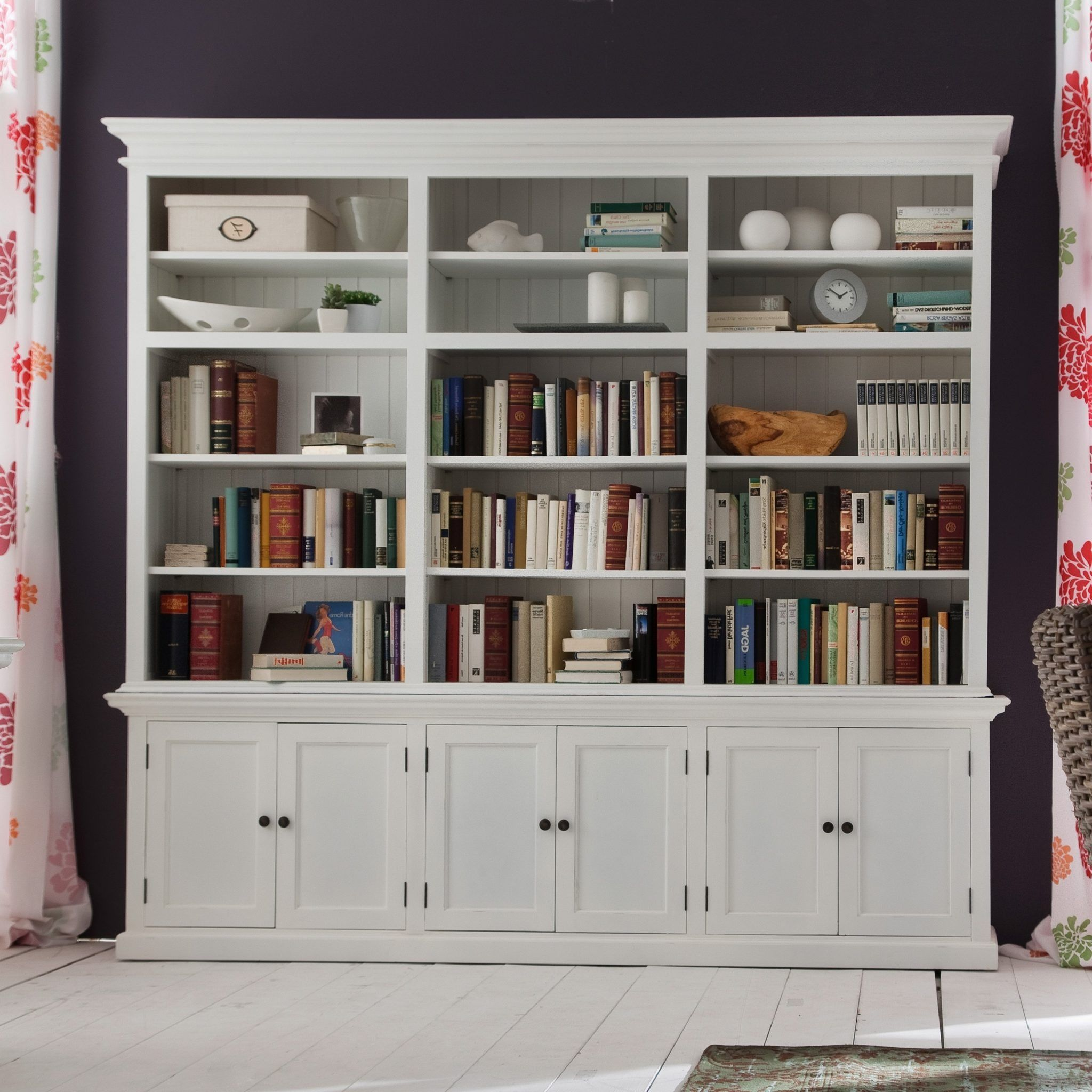 6 Foot Tall Bookcase