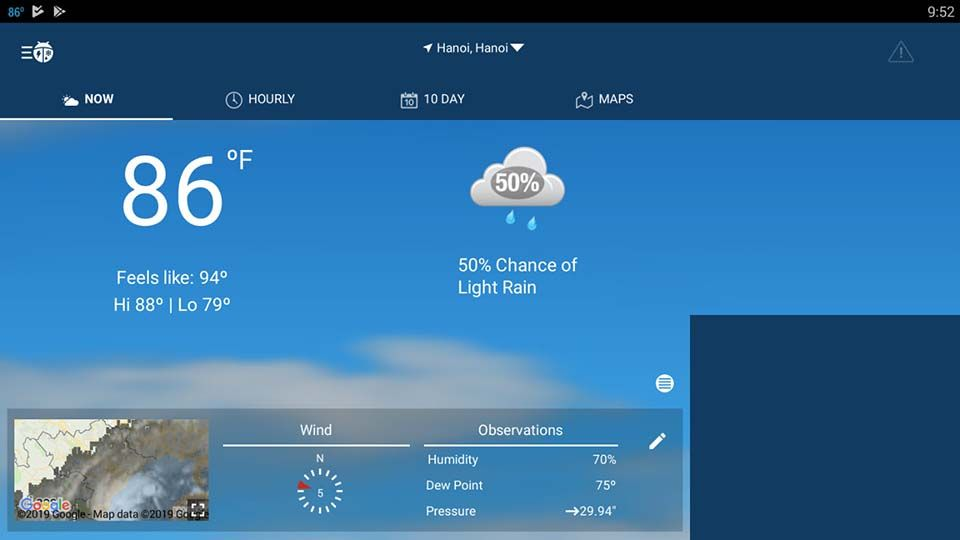 WeatherBug For Windows 10/8/7 Free Download Weather