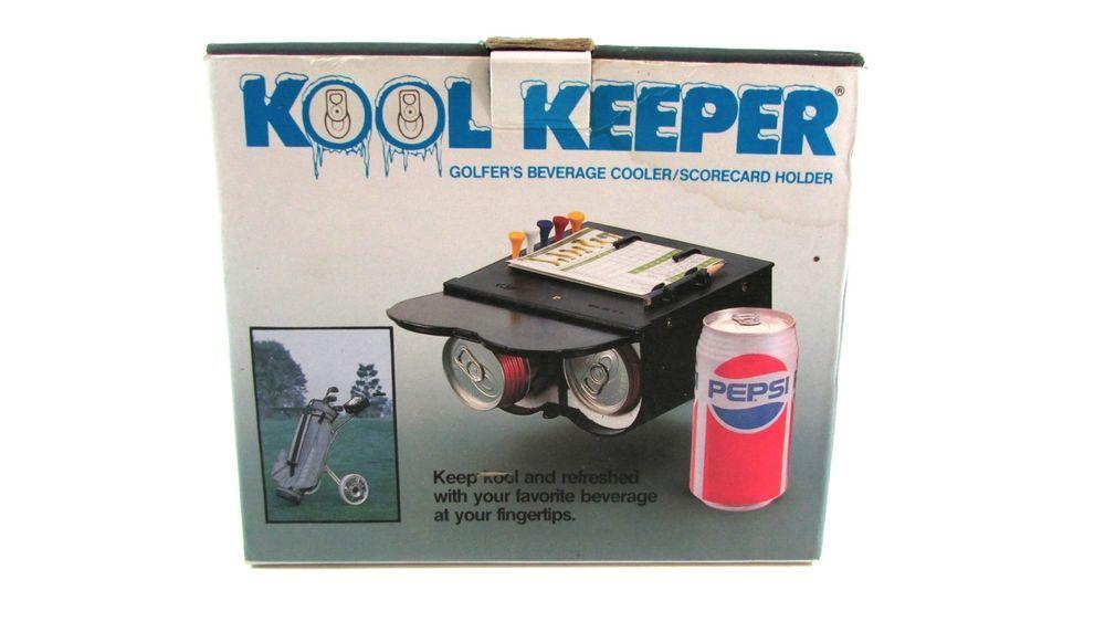 Kool Keeper Golfers Beverage Cooler Scorecard Holder #Golf #FathersDay #KoolKeeper