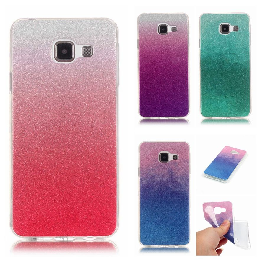 For Coque Samsung Galaxy A3 2016 Case Silicon Glitter Bling Phone Case Samsung Galaxy A3 2016 A310 Tran Mobile Phone Mobile Phone Accessories Phone Accessories