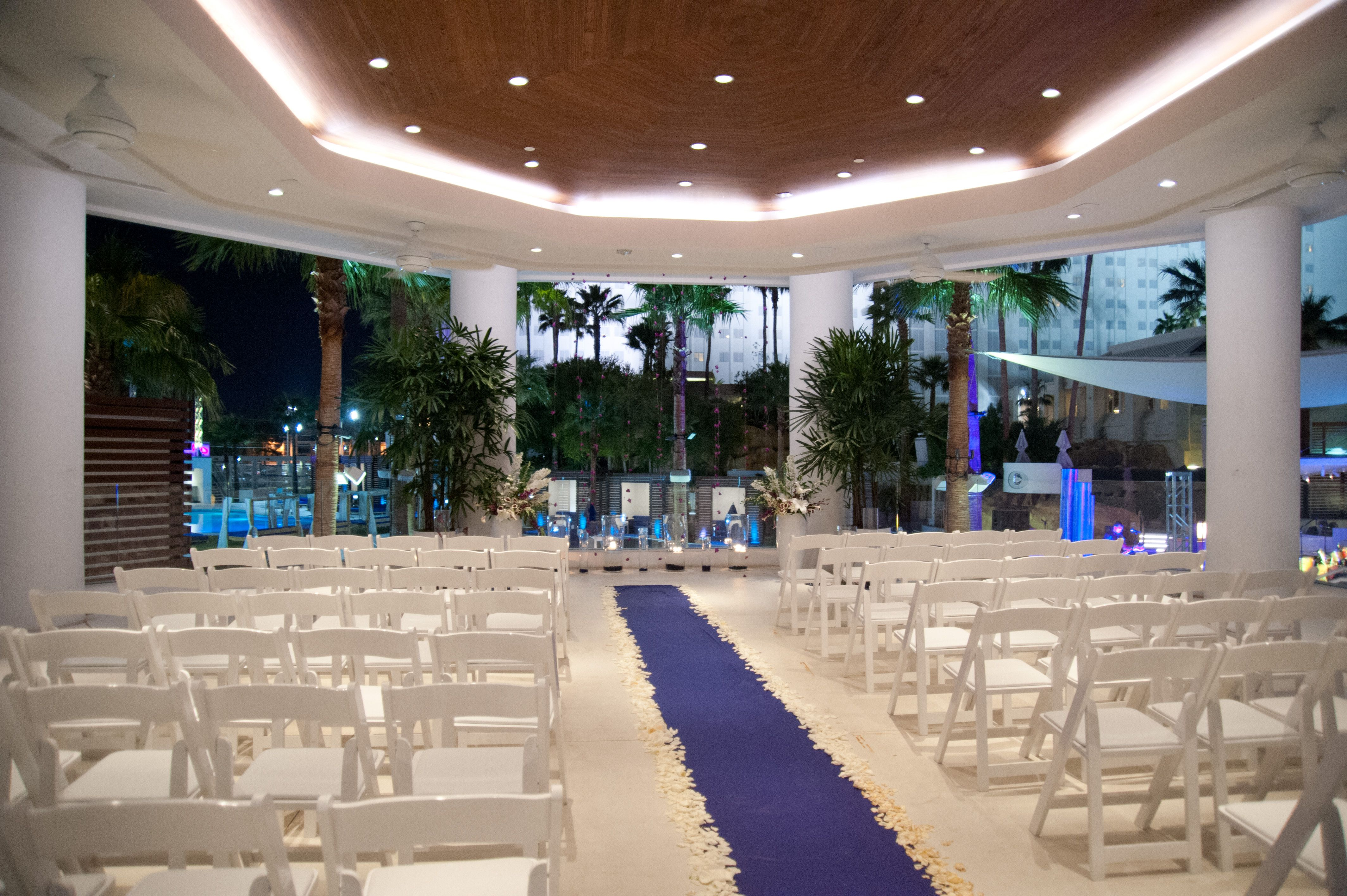Wedding One Of Our Newest Venues Available The Beach Club At Tropicana Las Vegas Www