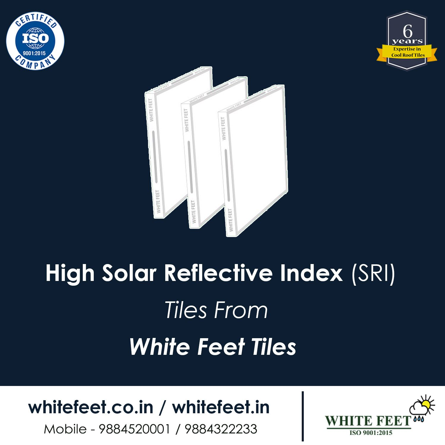 Whitefeet Cool Roof Tiles Cool Roof Roof Tiles Tiles