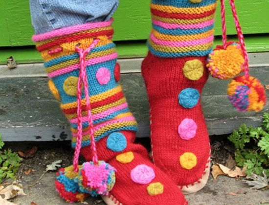Knitted Slipper Boots Pattern Ideas That You Will Love Slipper