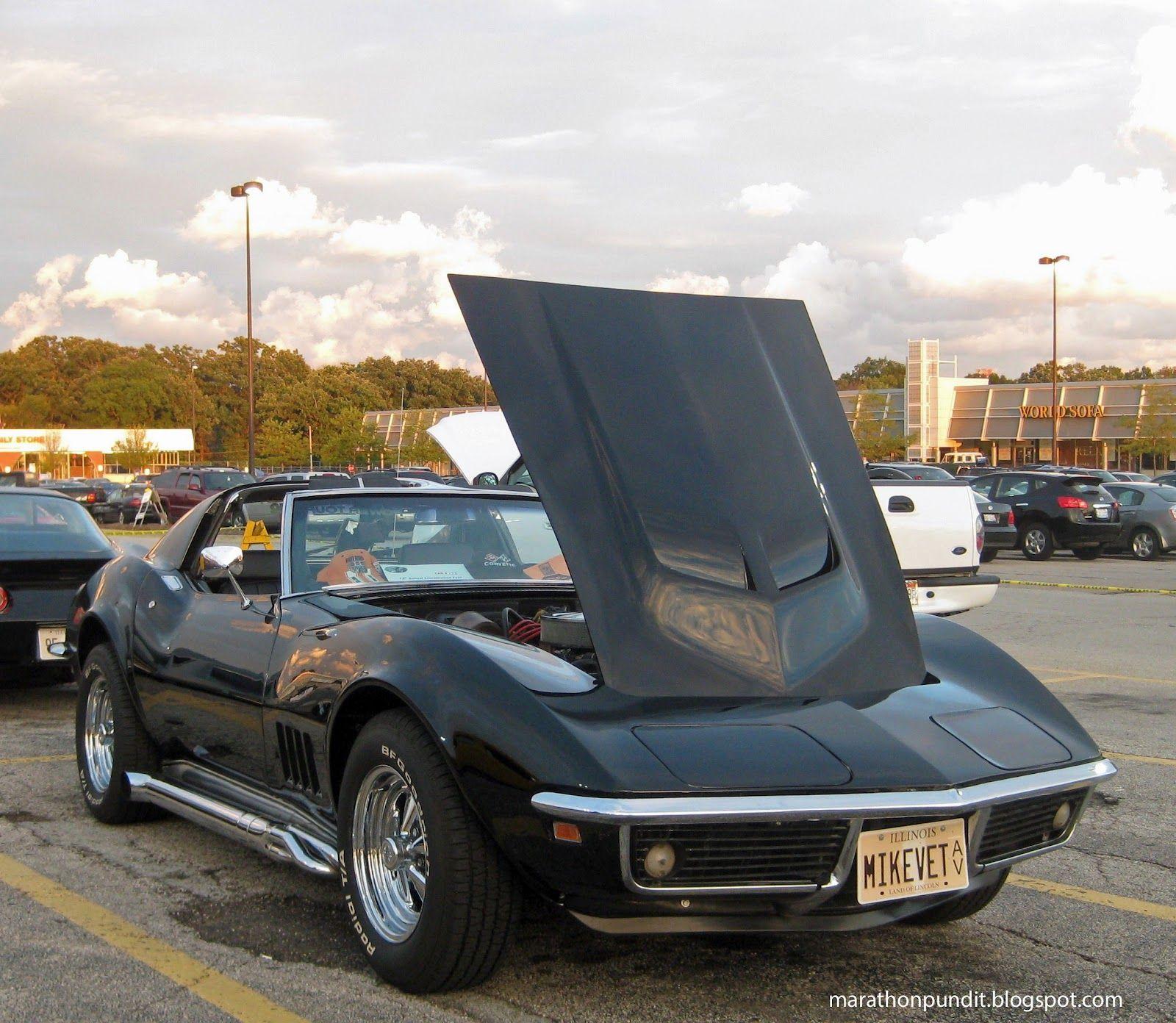 A 1969 chevy corvette 8 10 12 morton grove classic car show