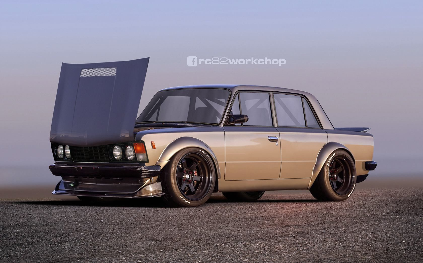 Fiat 125p Tuning With Images Fiat 128 Fiat 126 Custom Cars