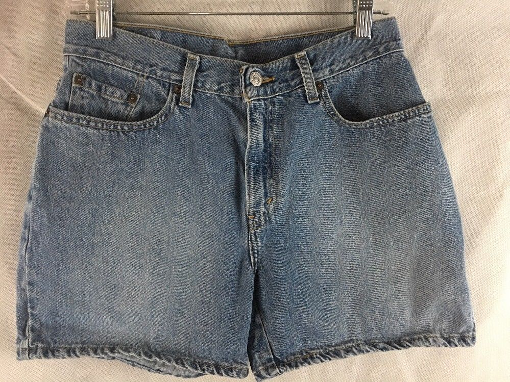 high waisted denim shorts size 10