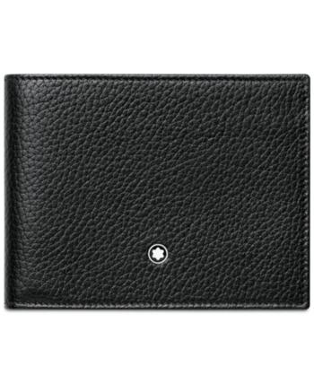 rivenditore all'ingrosso selezione straordinaria autentico Montblanc Meisterstuck Black Soft Grain Wallet 113305 ...