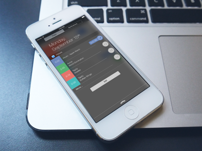 Hours For iOS 8 Lets You Track Your Time With A Widget