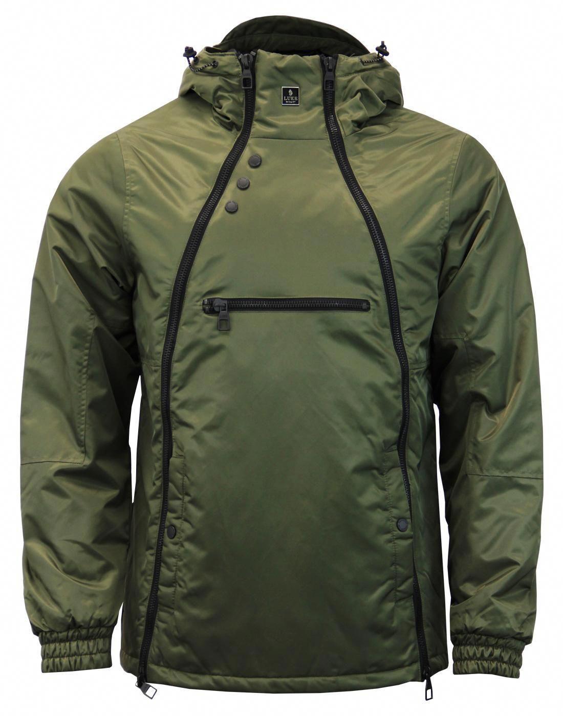 Turvey LUKE 1977 Men's Double Zip Technical Jacket #jacket