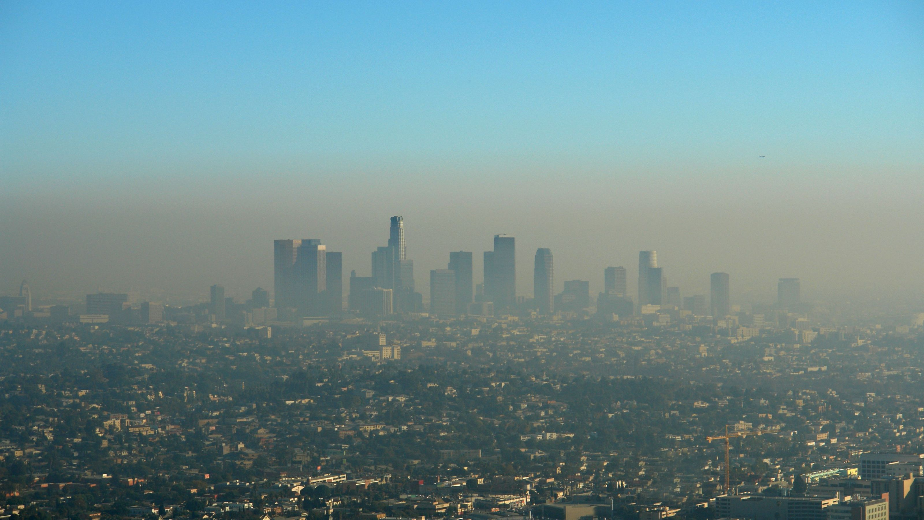 Bad air days on the rise The nation's most polluted city