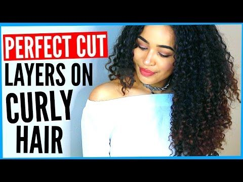 how to cut short curly hair in layers yourself  best