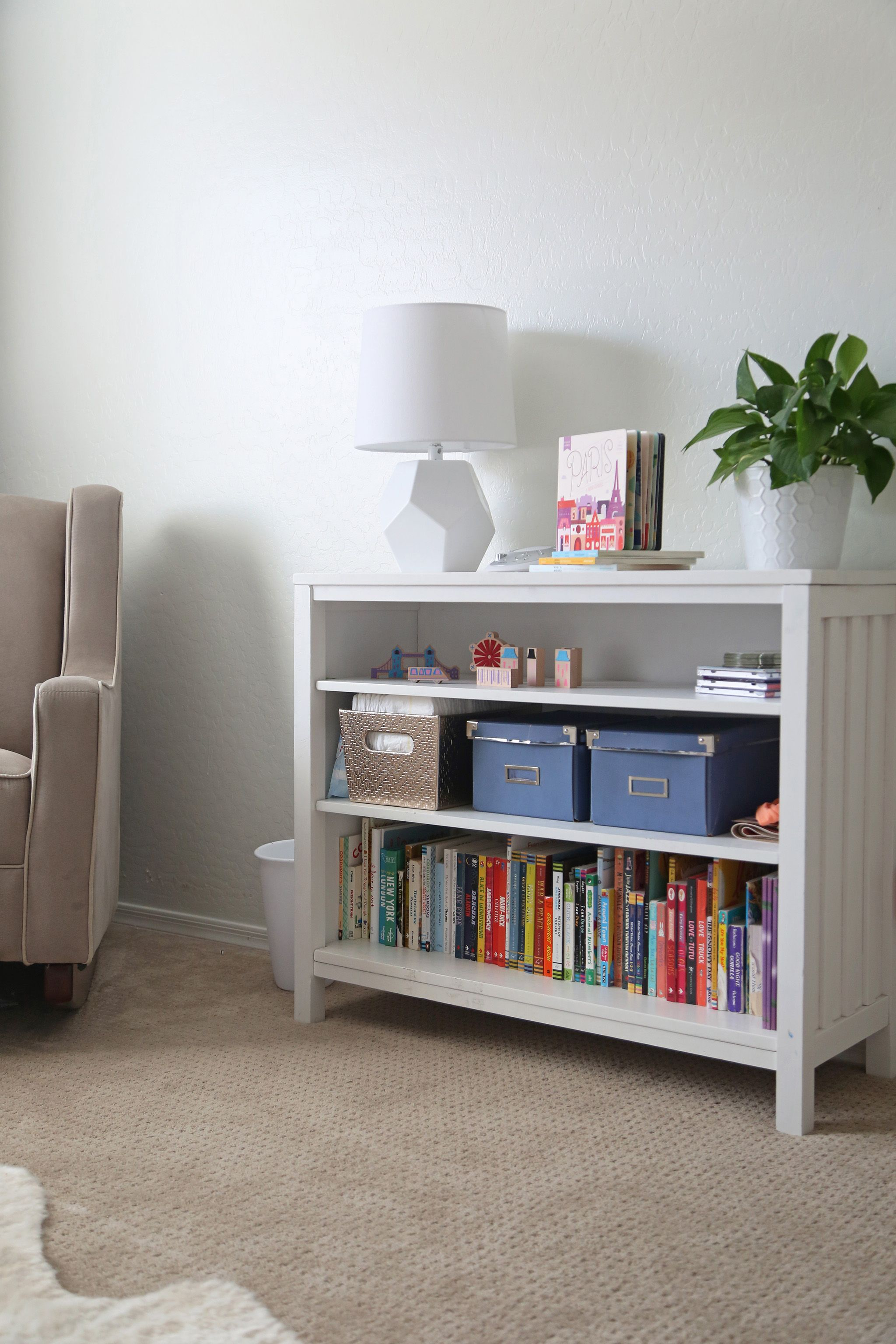 We Love Seeing Nursery Shelving Ideas This One Is Sweet And Simple With Tons Of Room For Books