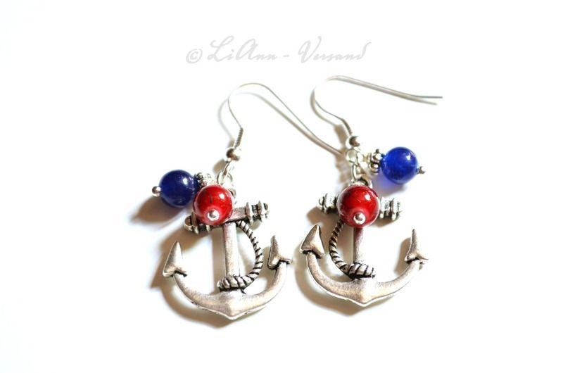 Ohrringe - ✼ Auf hoher See ✼ Ohrringe - ein Designerstück von LiAnn-Versand bei DaWanda
