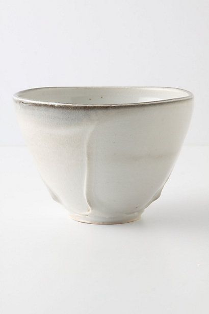 anthropologie pinched corners tea bowl