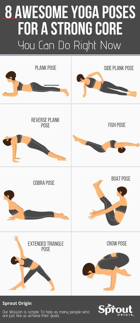 8 Awesome Yoga Poses For A Strong Core You Can Do Right Now – Yoga fitness - Water 8 Awesome Yoga Po...