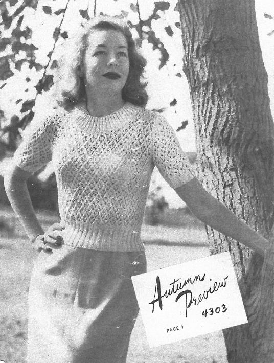Subversive Femme Free Vintage Knitting Pattern Booklet Twin Prufe