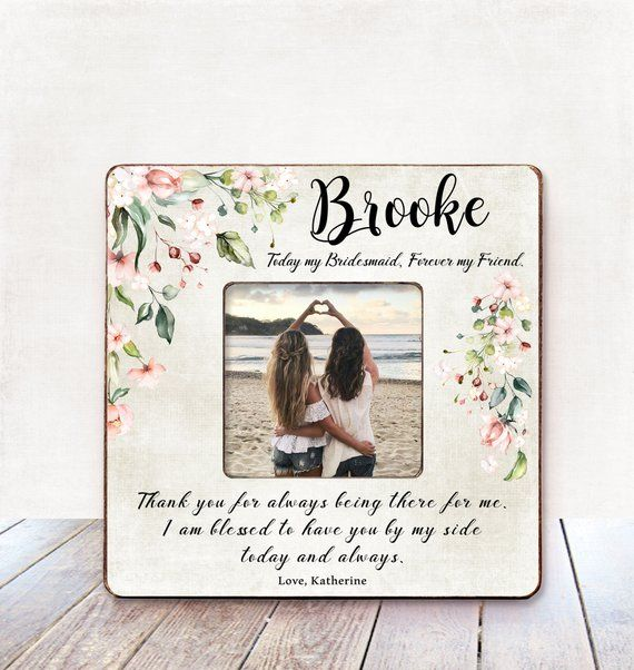Thank You Note For Wedding Gifts: Bridesmaid Gift Wedding Thank You Gift For Bridesmaid